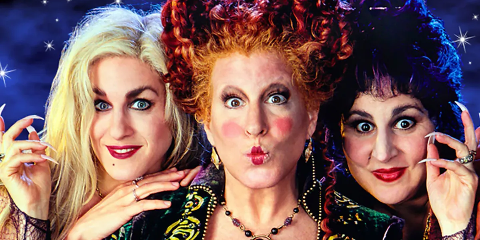SOLD OUT /// HOCUS POCUS: Iris Halloween Drive In Movies