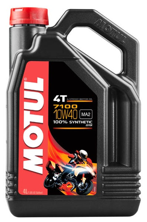 MOTUL 7100 4T SAE 10W40 (4 л.)