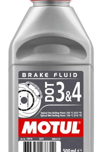 Тормозная жидкость MOTUL DOT 3&4 Brake Fluid FL (500 мл.)