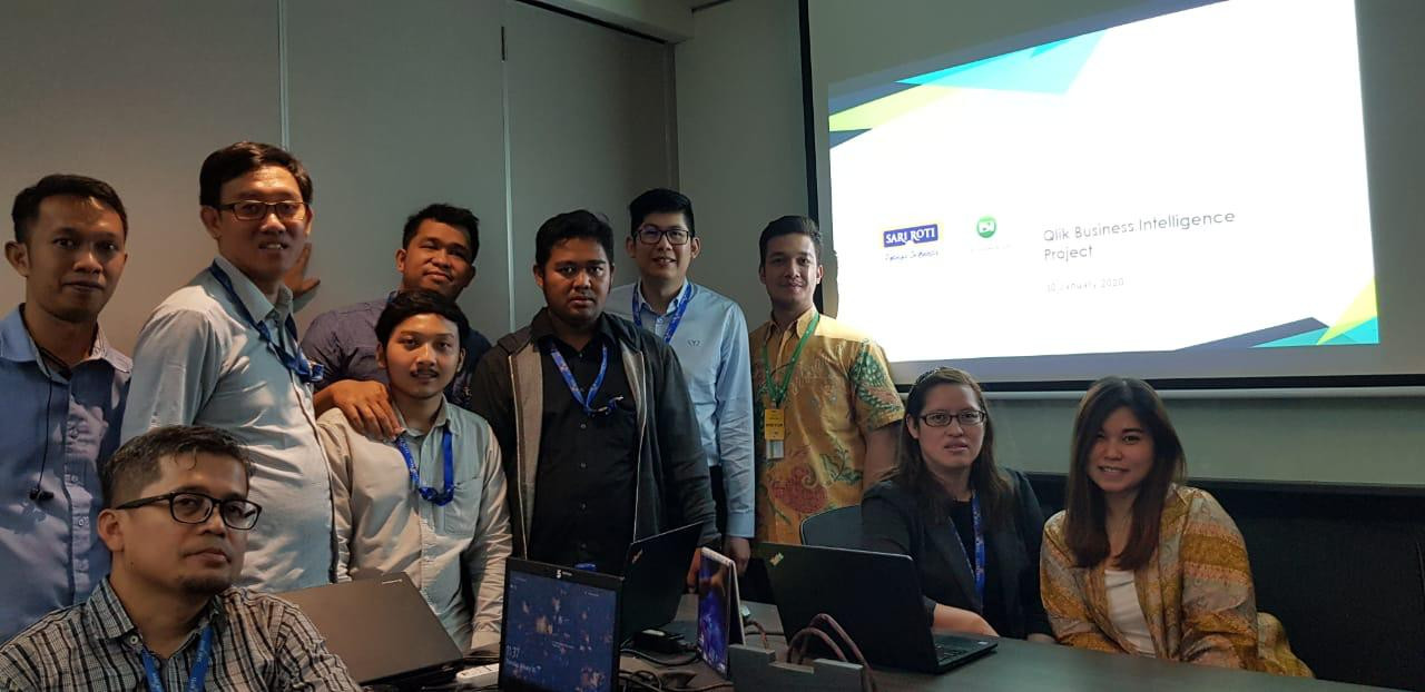 KICK OFF Qlik - Sari Roti, January 30th 2020