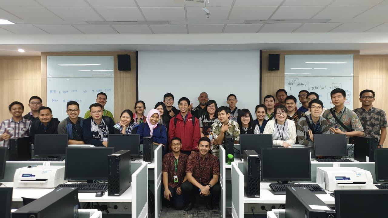 BCA Learning Institute Sentul, 16-19 September 2019