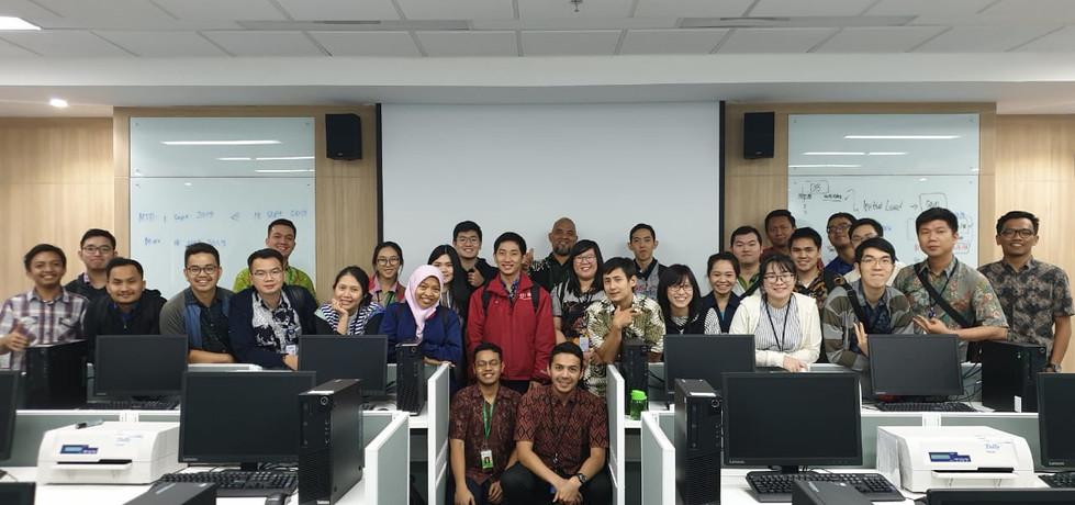 BCA Learning Institute Sentul, 16-19 September 2019