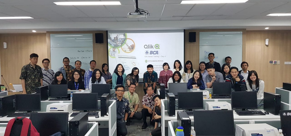 BCA Learning Institute Sentul, 14-17 October 2019