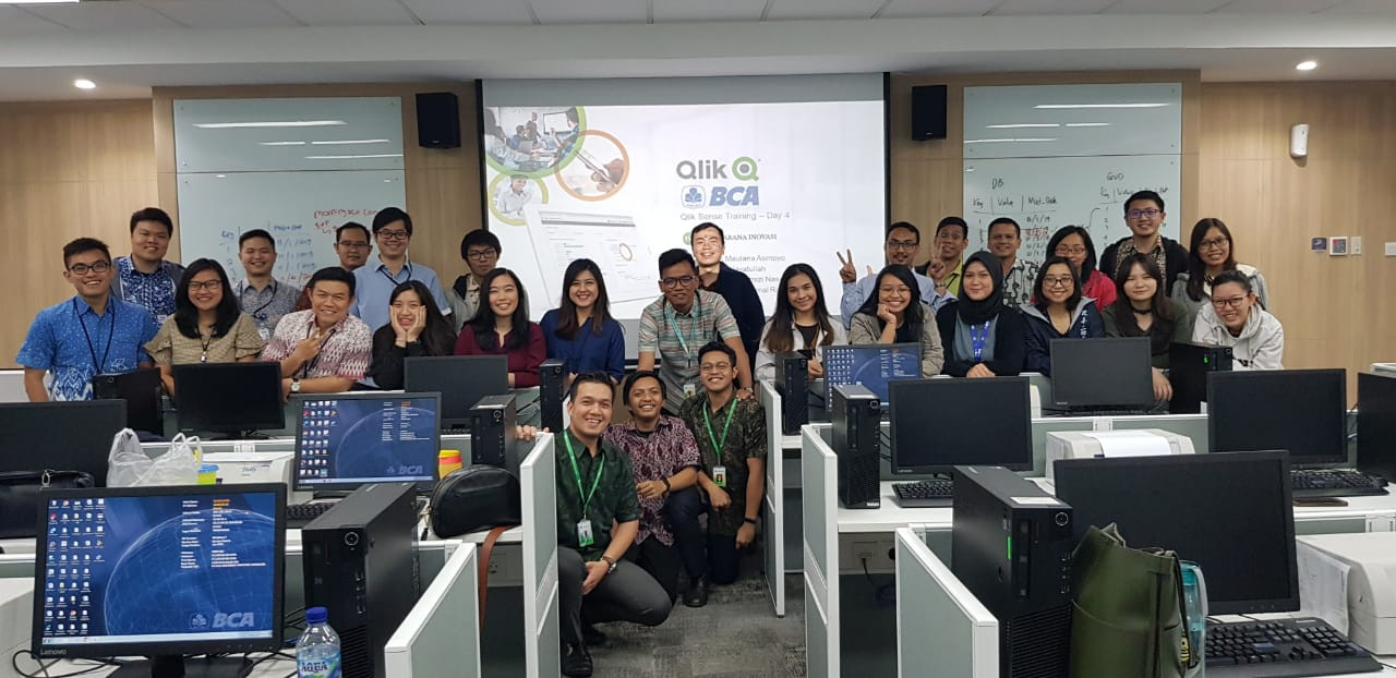 BCA Learning Institute Sentul, 4-7 November 2019