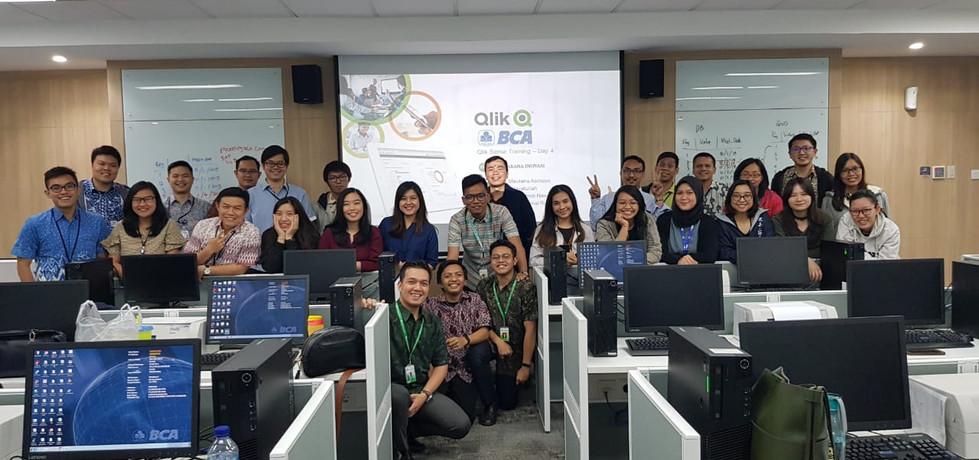 BCA Learning Institute Sentul, 4-7 November 2019