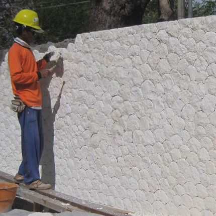 WHITE CORAL STONE WALL CLADDING