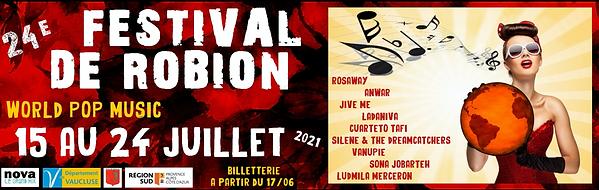 Festival du Robion 2021