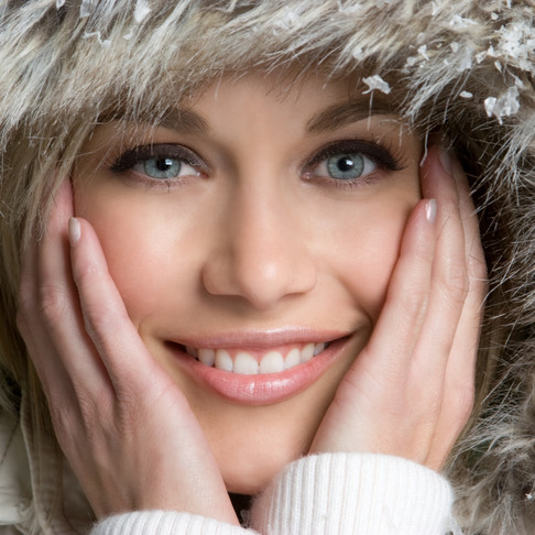 Love the winter skin you're in!
