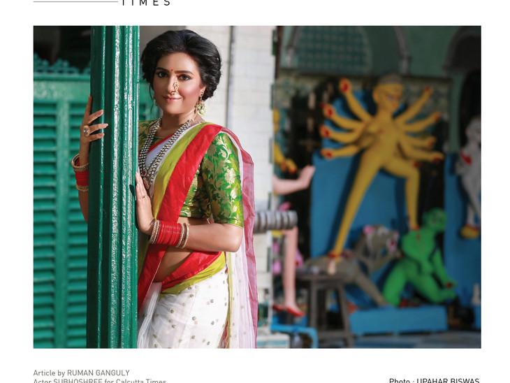 Shobhoshree for Calcutta Times
