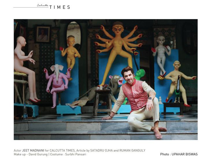Jeet for Calcutta Times