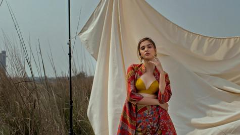 Shoot for Oushk for Lakme Fashion Week