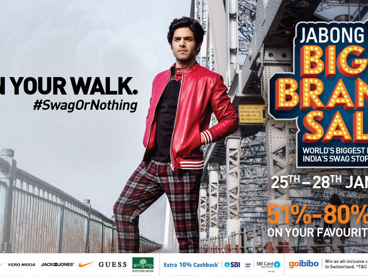 Campaign for Jabong India
