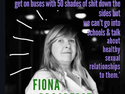 Blondy's People …..Fiona Broadfoot