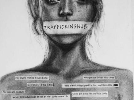 Traffickinghub London Protest 2020