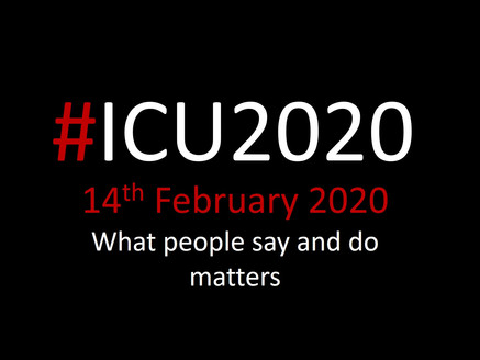 #ICU2020 silent prayer….Thank you x