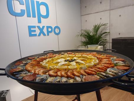 Traiteur le roi de la paella remercie la société Clip Expo