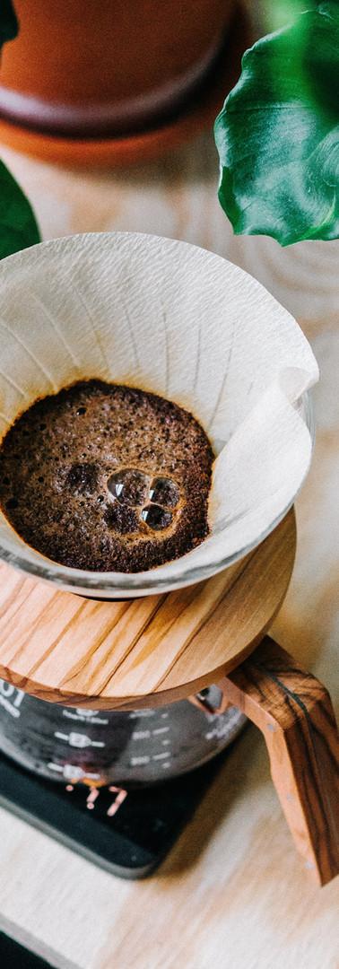Gefilterter Kaffee