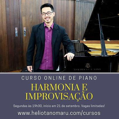 Curso Harmonia e Improvisação ao Piano