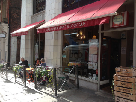 Our Very Own, Very French, Outdoor Terrace