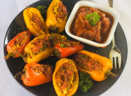 Stuffed Capsicum - Persian Pepper Dolmeh