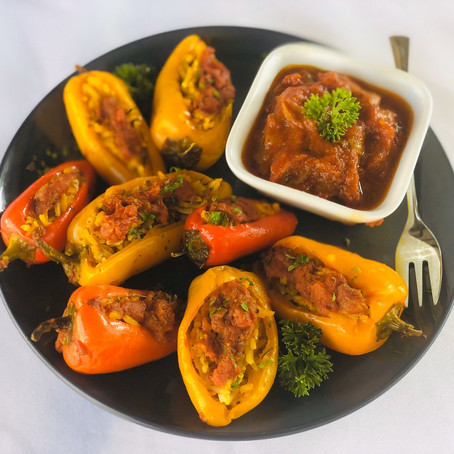 Stuffed Capsicum - Persian Pepper Dolmeh