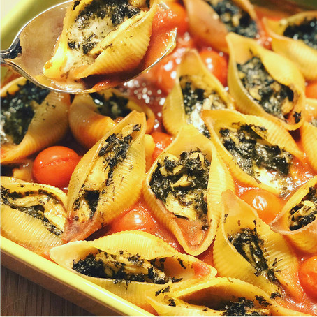 Rich And Creamy Vegetarian Pasta Bake With A Persian Twist