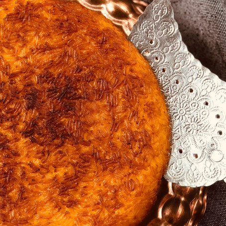 Crusty Bottom Persian Rice - Tahdig