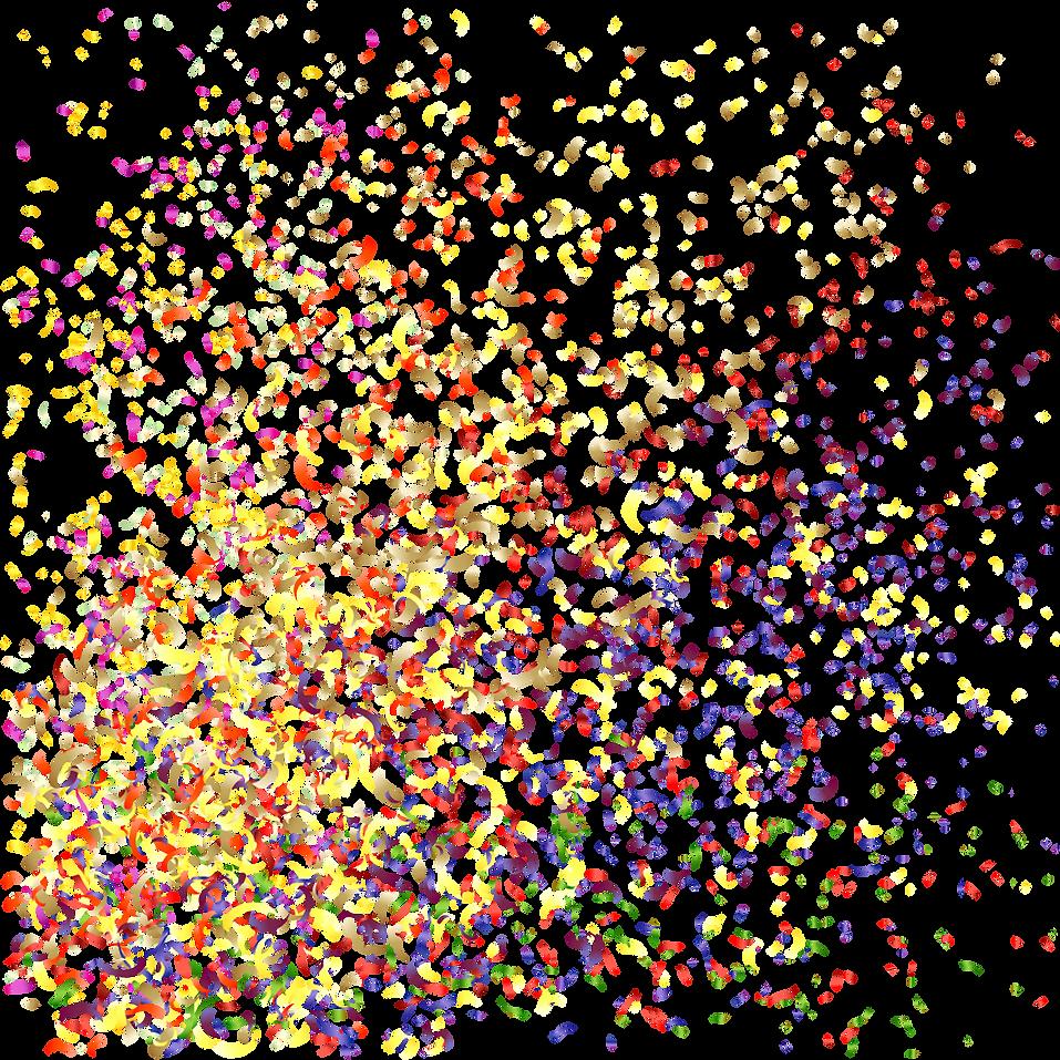 fest, ljud, musik, högtalare, konfetti