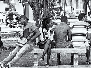 Photographed in Cuba