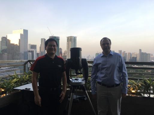 Aurora Visits DOST-PCIEERD and National Space Development Program