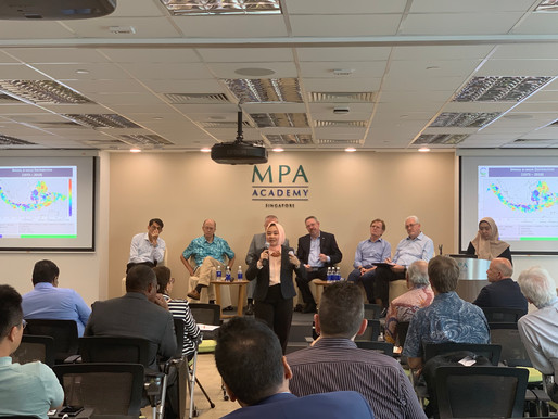 Aurora Attends Maritime Sector Strategies to Augment Tsunami Monitoring Event in Singapore