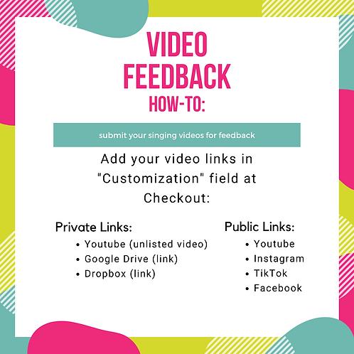 Video Feedback