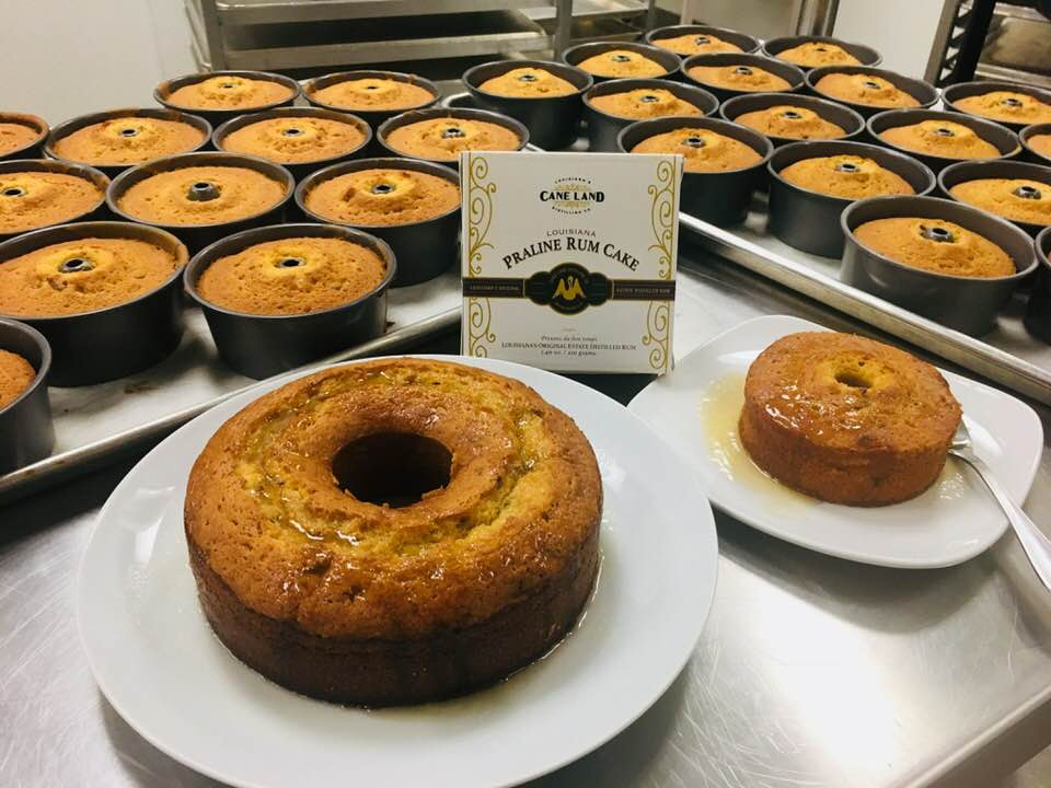 Large Rum Cakes are Coming!