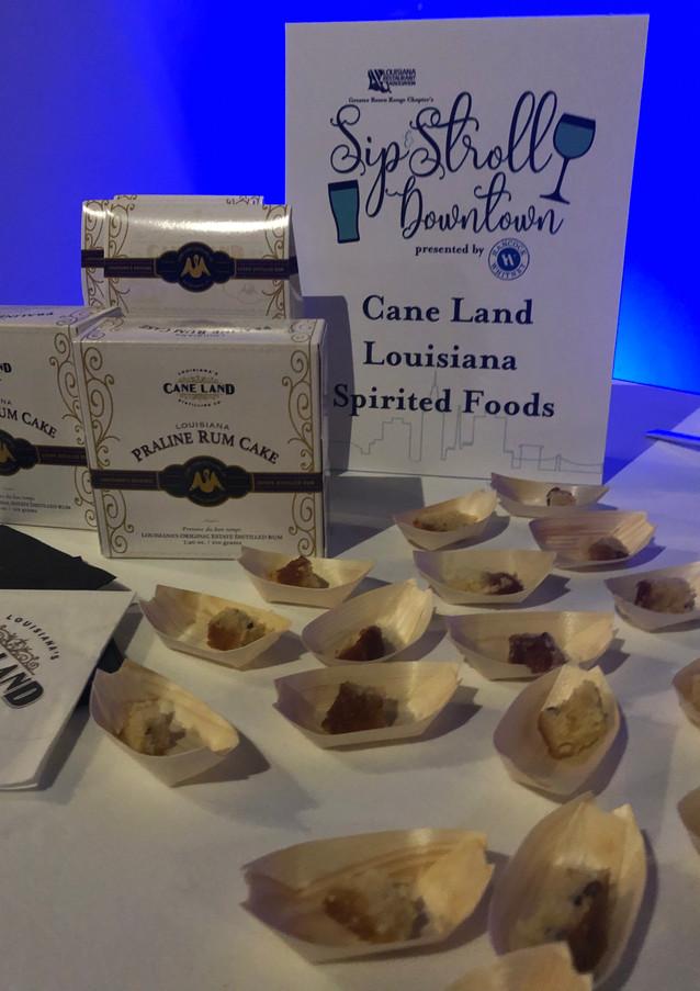 Samples of Cane Land foods