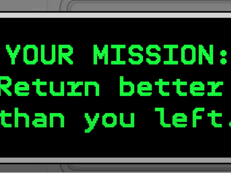 Your pandemic mission