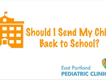 Should I send my child back for hybrid learning?