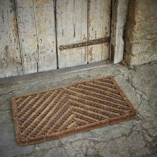 Coir wire doormat