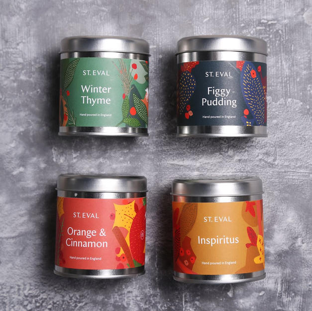 Christmas fragrance tins £11.50