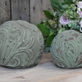 Decorative garden globes