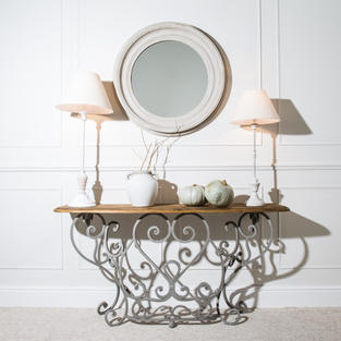 Large light grey mirror