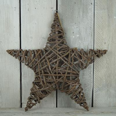 60cm Wicker Star