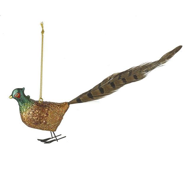 Pheasant bauble £6