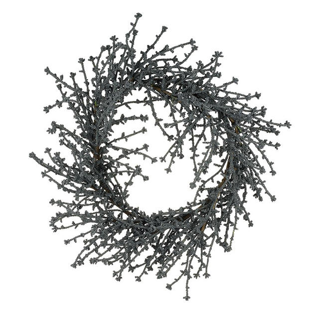 silver foliage wreath £30