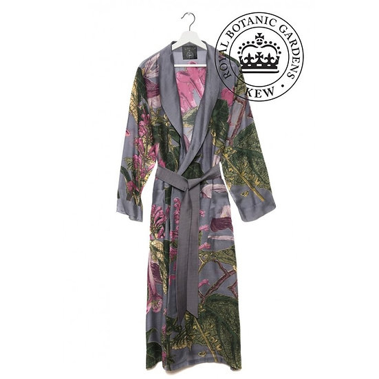 Kew Gardens Magnolia Gown (purple/grey)