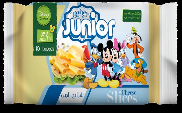 Junior Less Fat Sice Cheese