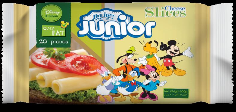 Junior Fat Free Slice Cheese