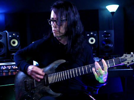 MEEGS RASCON Brings Heavy Riffs With The Doomchild Fuzz & Schecter Guitars!