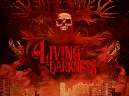 "LIVING DARKNESS Releases Debut Album ""THE BISHOP"" On METAL ASSAULT RECORDS"