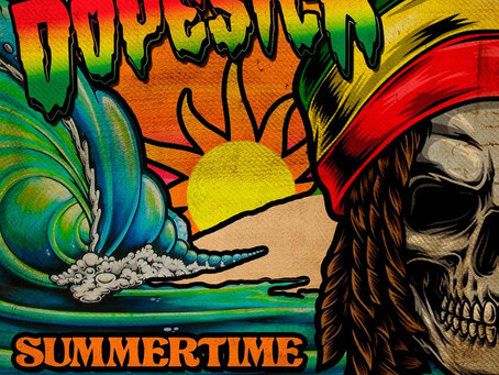 "DOPESICK Releases New Reggae/Rock Single ""SUMMERTIME"" Feat. H.R. of BAD BRAINS"