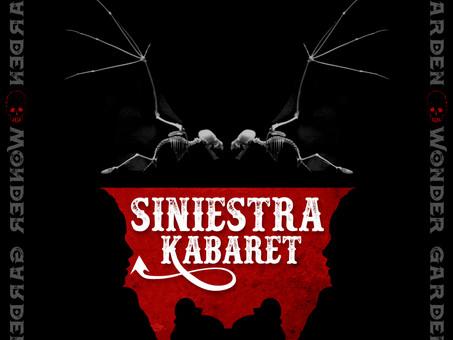 """SINIESTRA KABARET Releases Goth Rock EP Entitled """"WONDER GARDEN"""""""